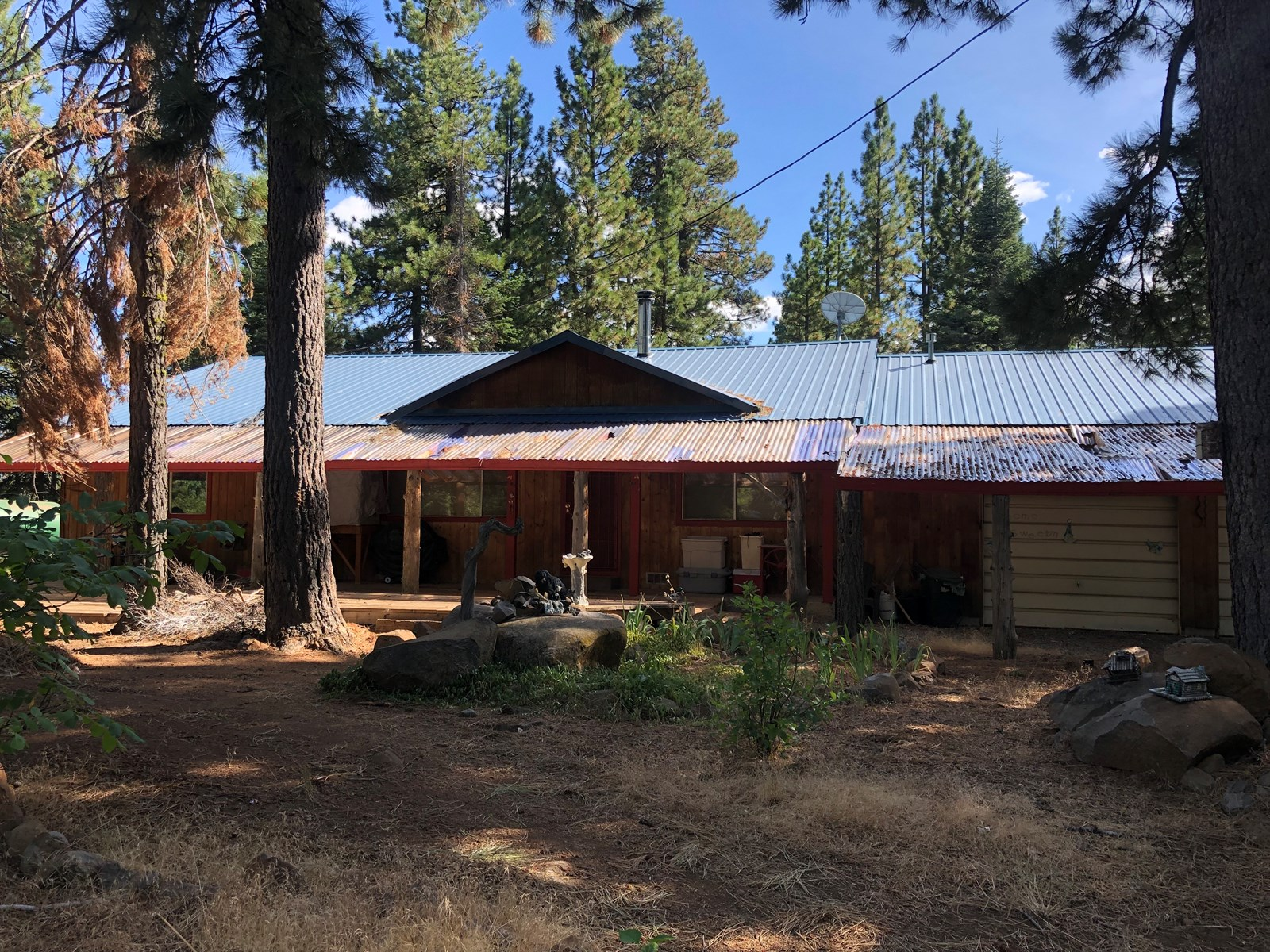 Country Home for Sale in the Pines.  Northern Ca