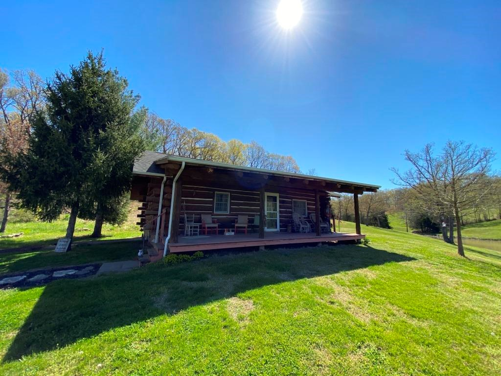 Livestock & Recreational Ranch with Log Cabin Cole County MO