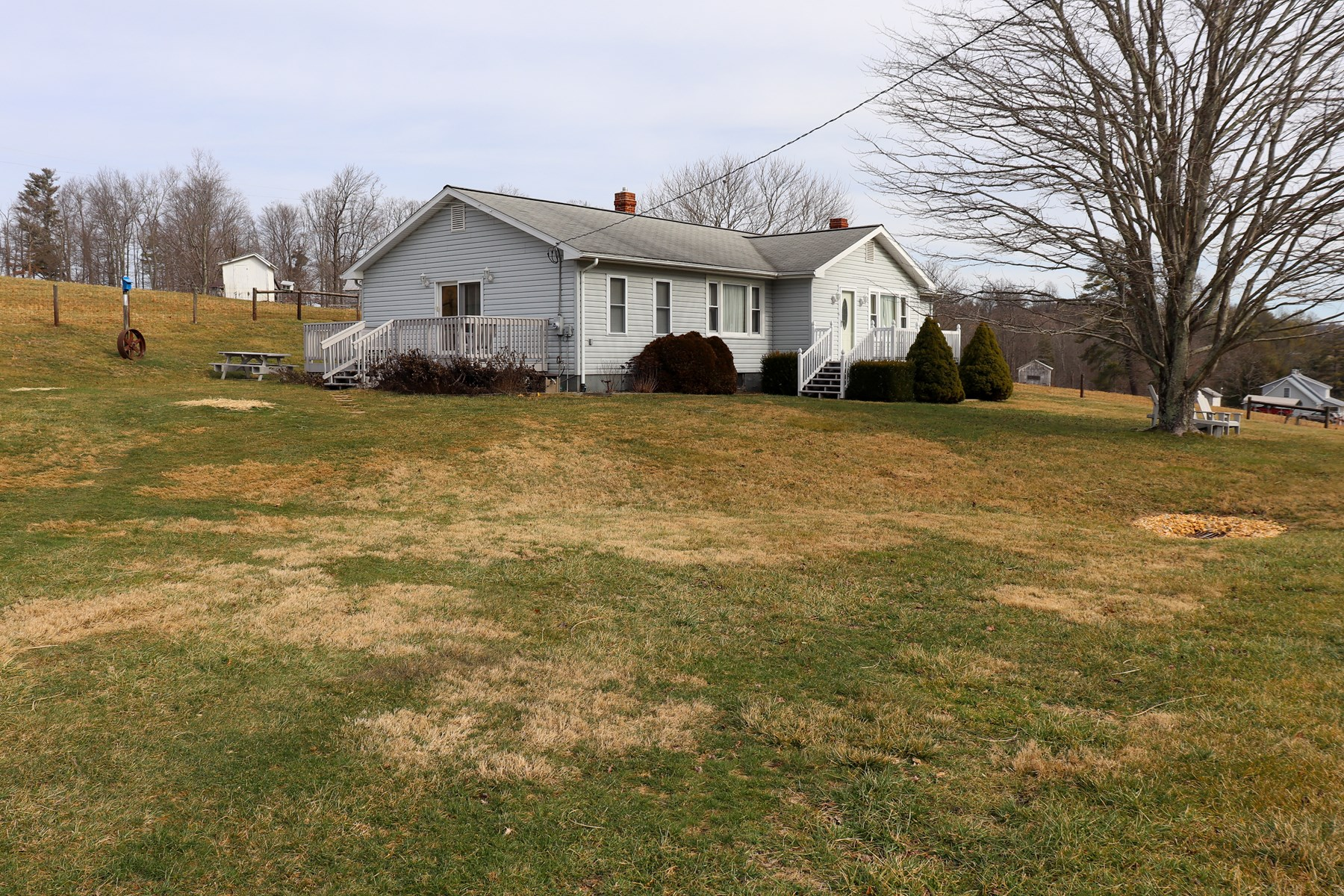 Ranch Style Country Home for Sale at Auction in Floyd VA!