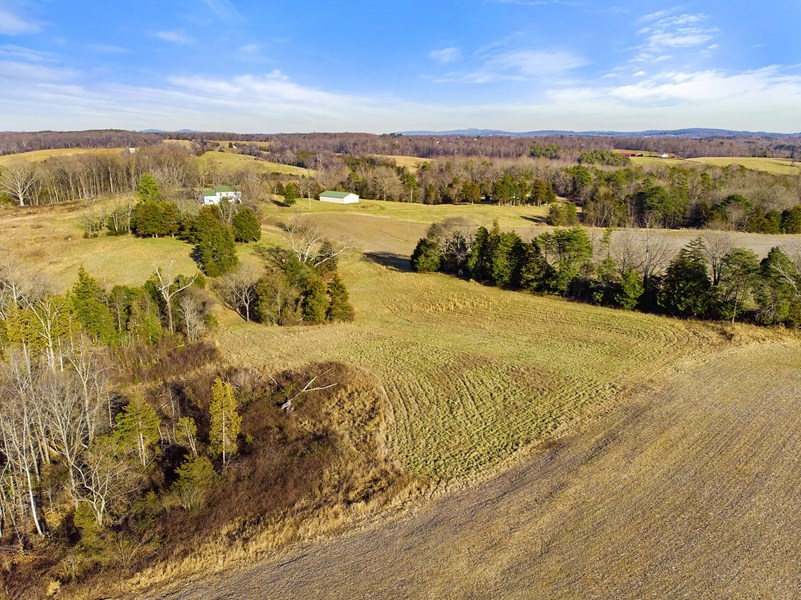 Aerial View of  VA Land for Sale