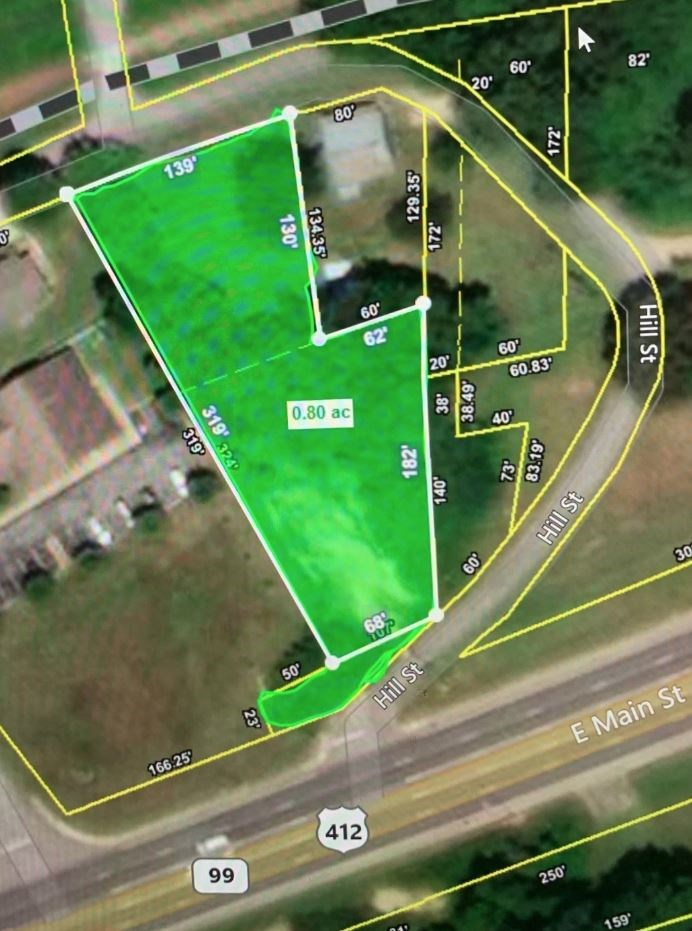Highly Visible Commercial Lot in Hohenwald, Tennessee