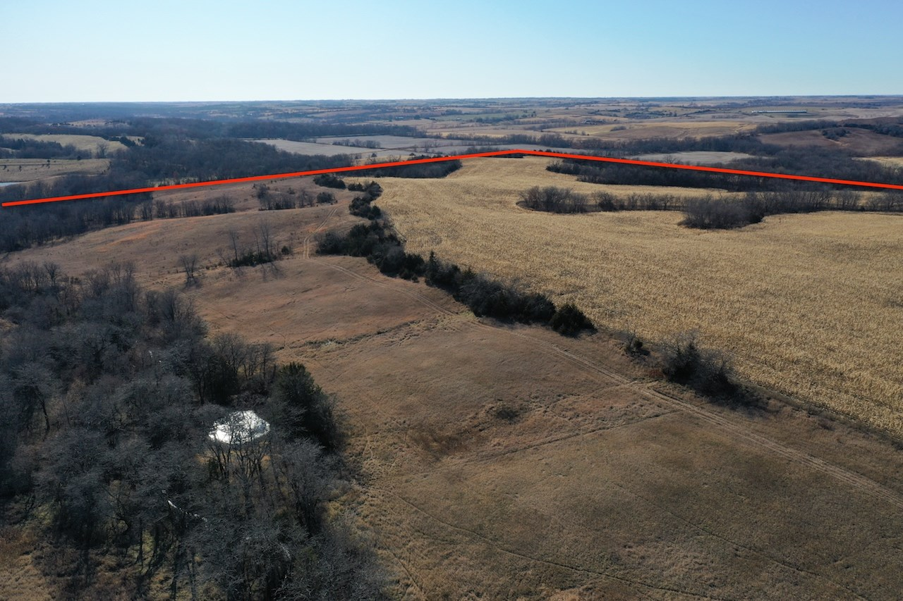 Hunting Property with Crop Ground For Sale in Southern Iowa