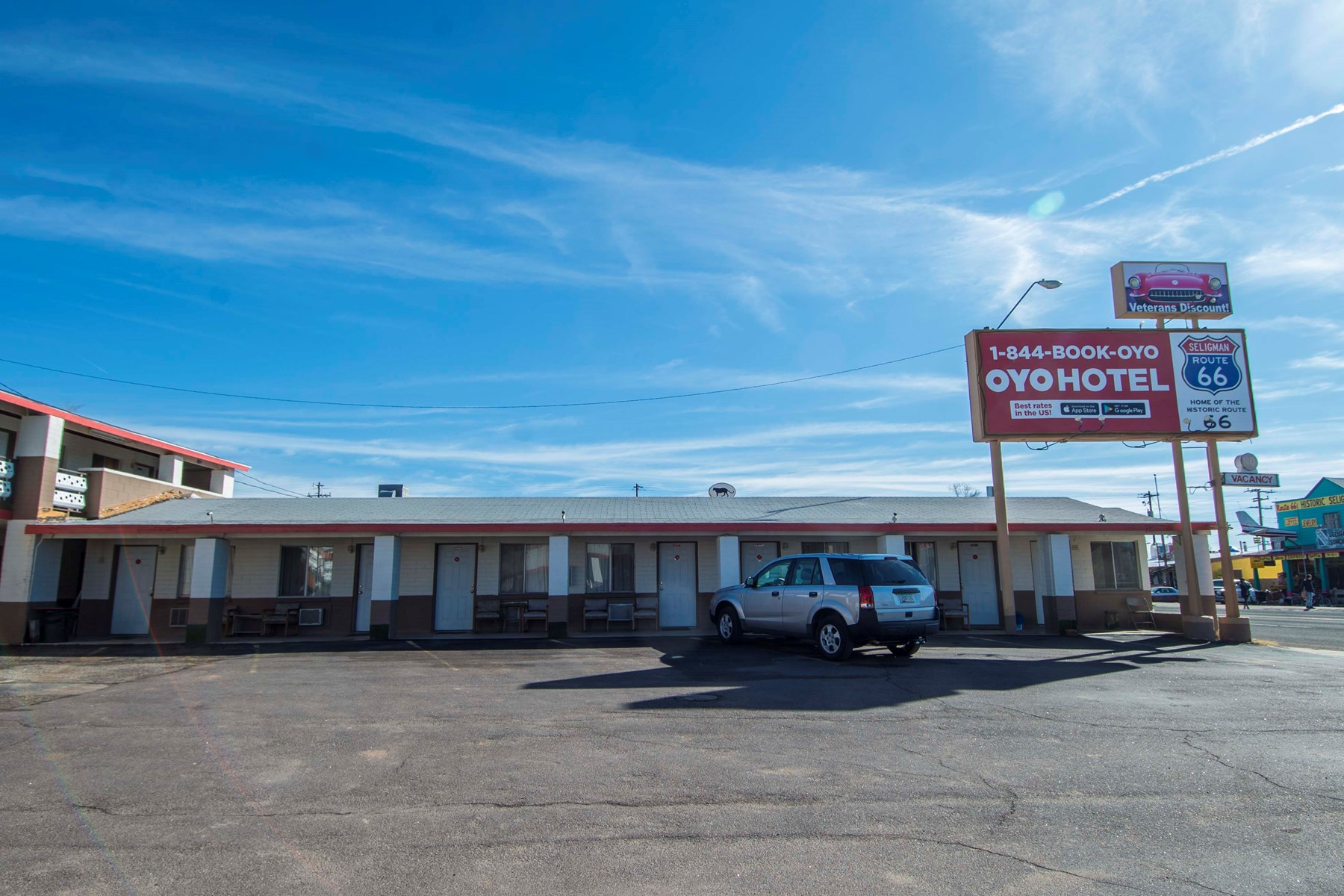 Historic Route 66 Hotel/Motel For Sale in Seligman, AZ