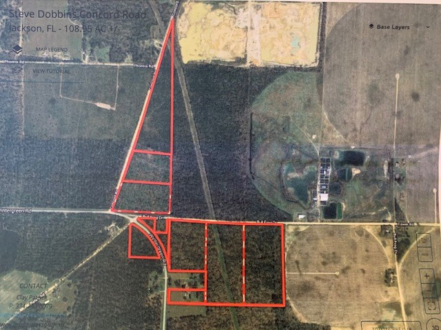 Land For Sale In Florida - Jackson County in Bascom, FL Area