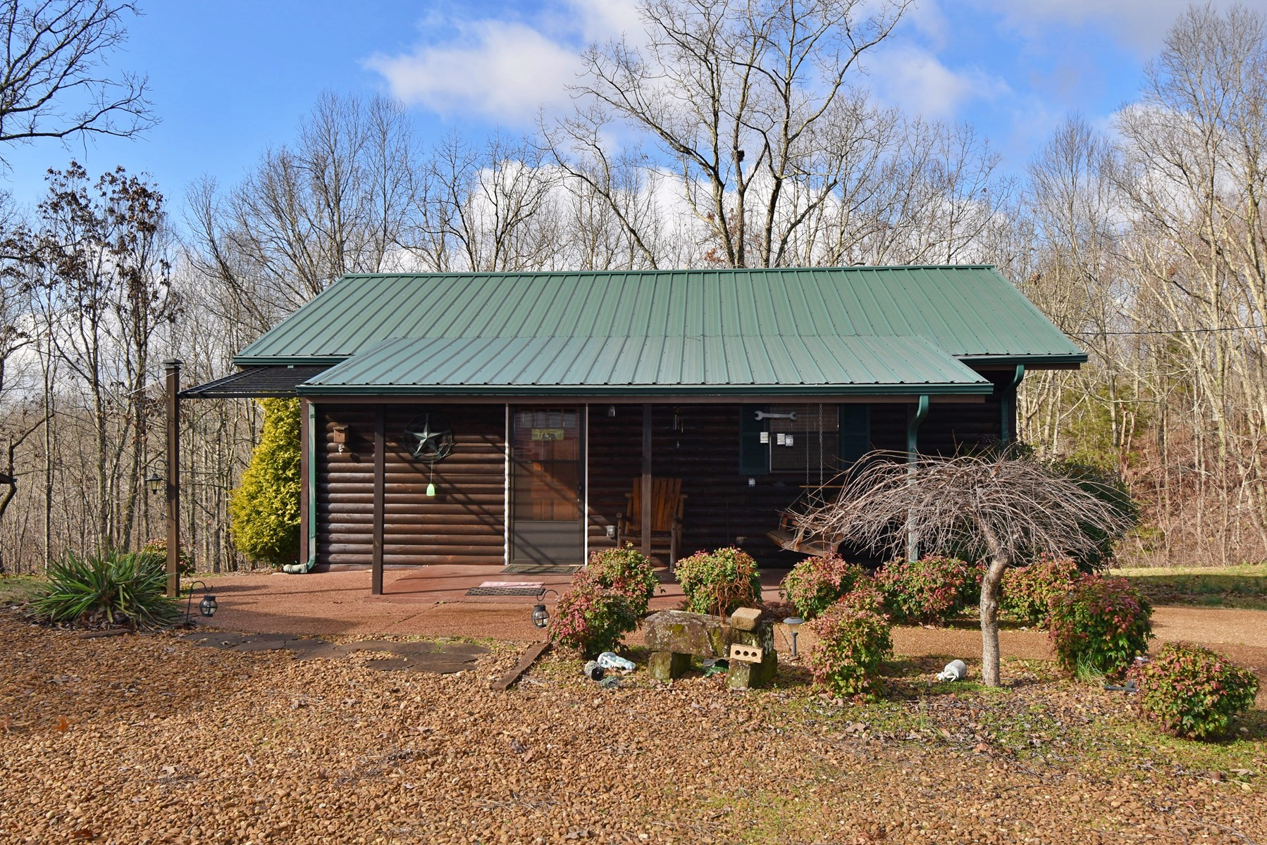 One Room Log Sided Cabin For Sale!