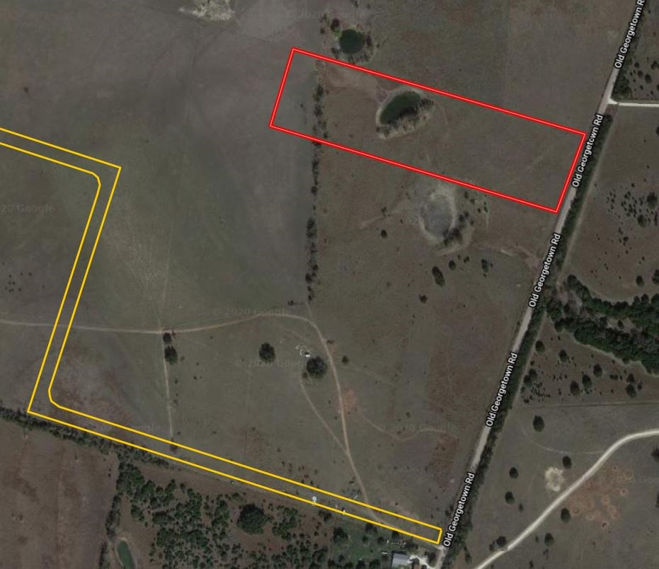 10.05 Acres in Gatesville, TX with Water, Great Build Site