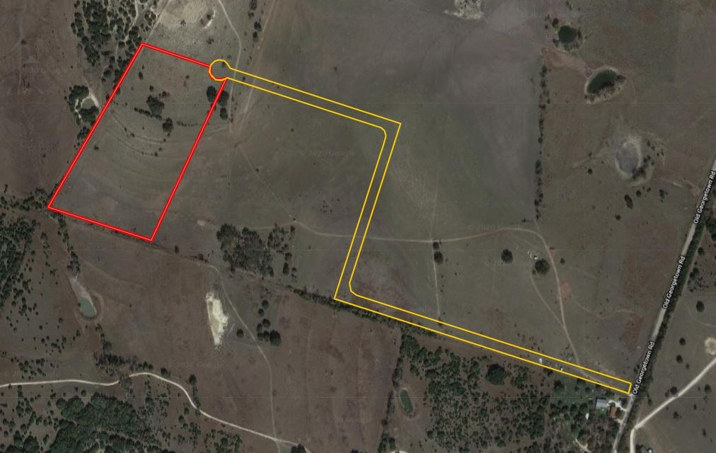 14.13 Acres in Gatesville, TX, Great Build Site
