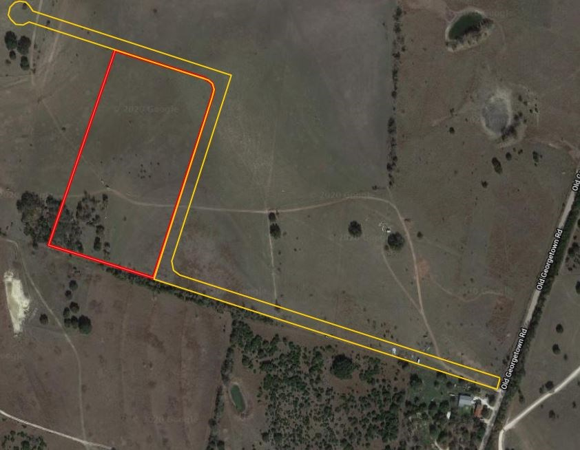 12.96 Acres in Gatesville, TX, Great Build Site