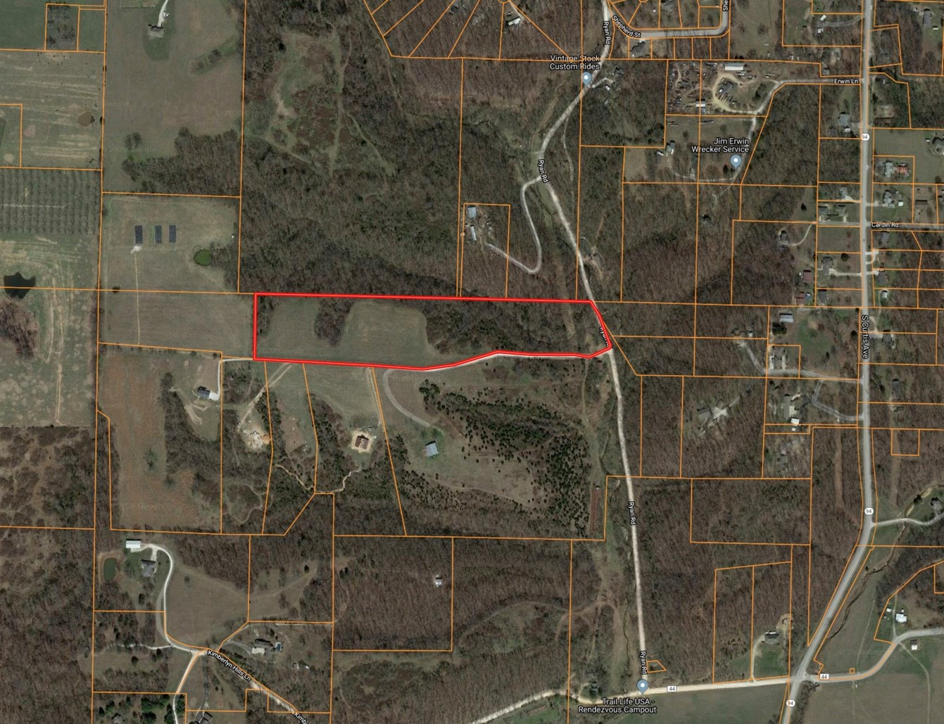 15.22 Acres close to Pea Ridge and Rogers