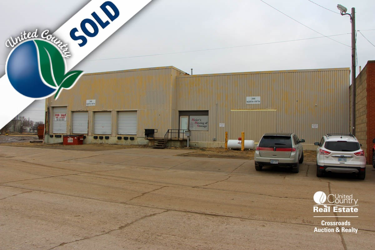 Salina, Kansas Commercial Warehouse Building For Sale