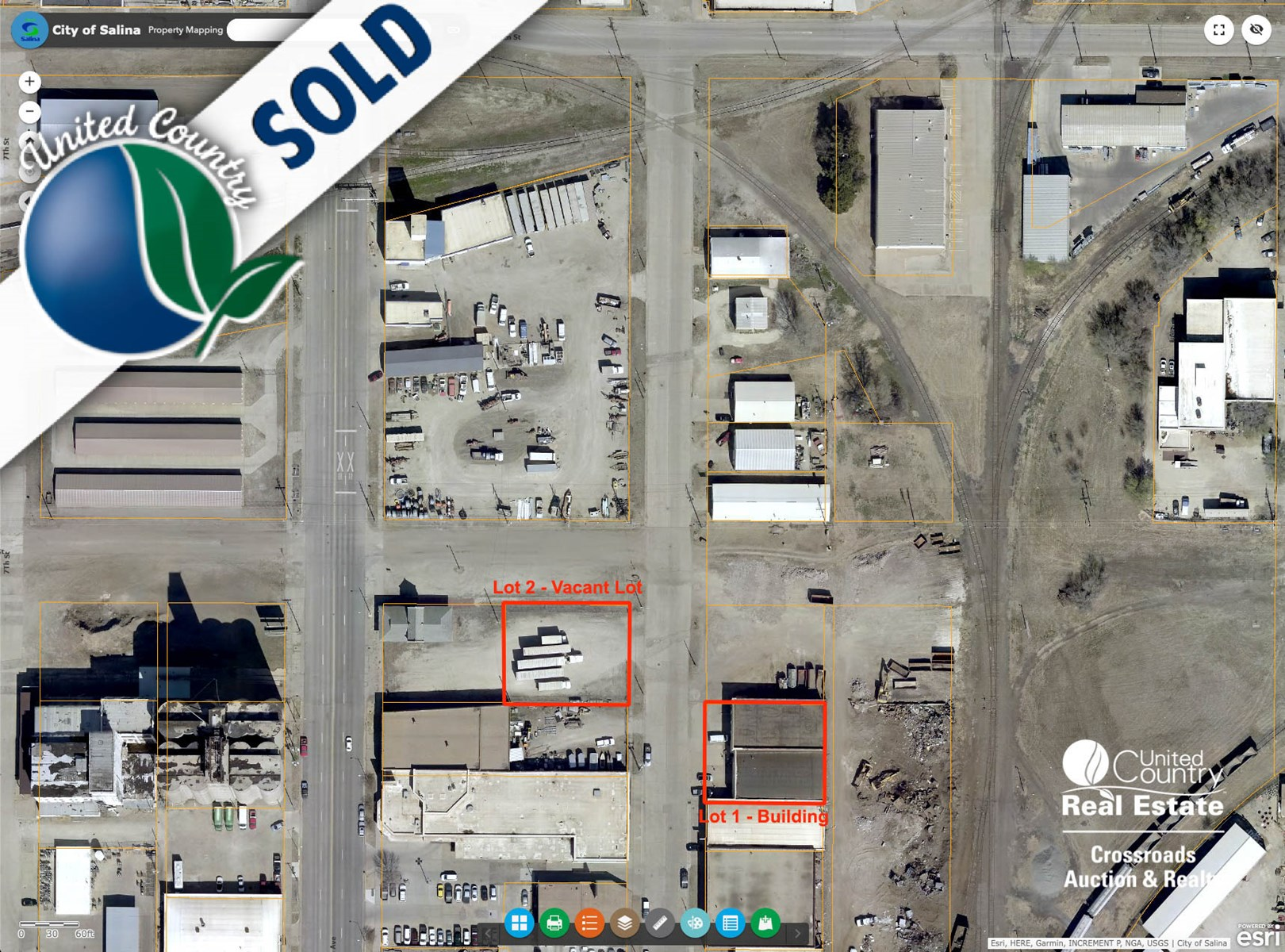 Vacant Commercial Building Lot in Salina, Kansas