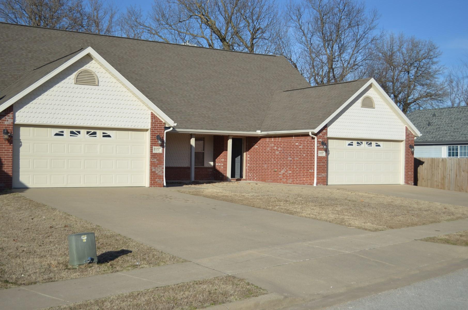 Duplex For Sale Gravette Arkansas