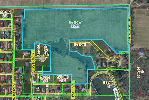33.09 Acres Park Meadow Subdivision, Oblong, IL