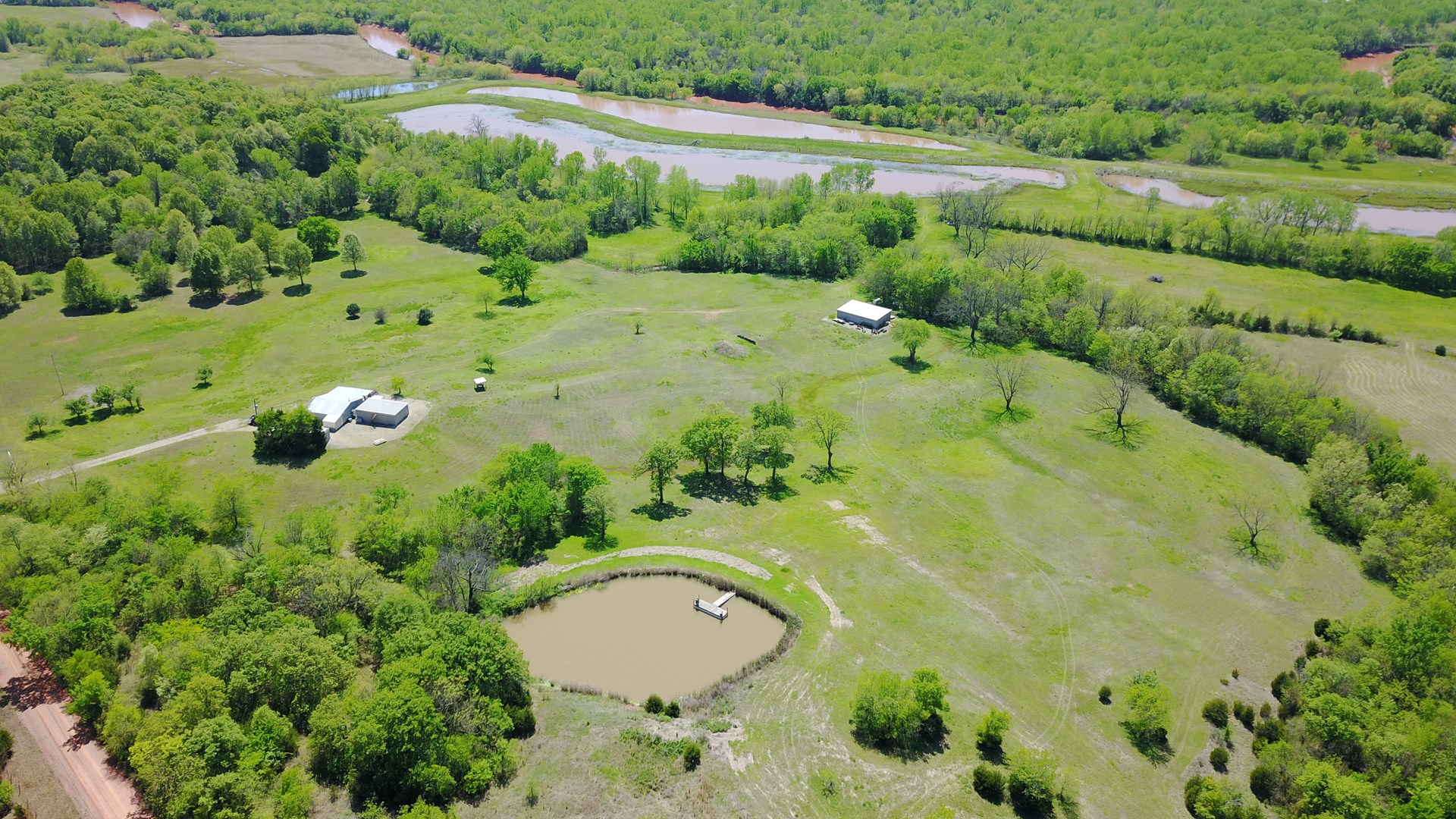 Oklahoma Hunting Land for Sale - Near OKC with a Cabin