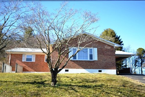 Brick 4 bedroom home near New River in Fort Chiswell, VA