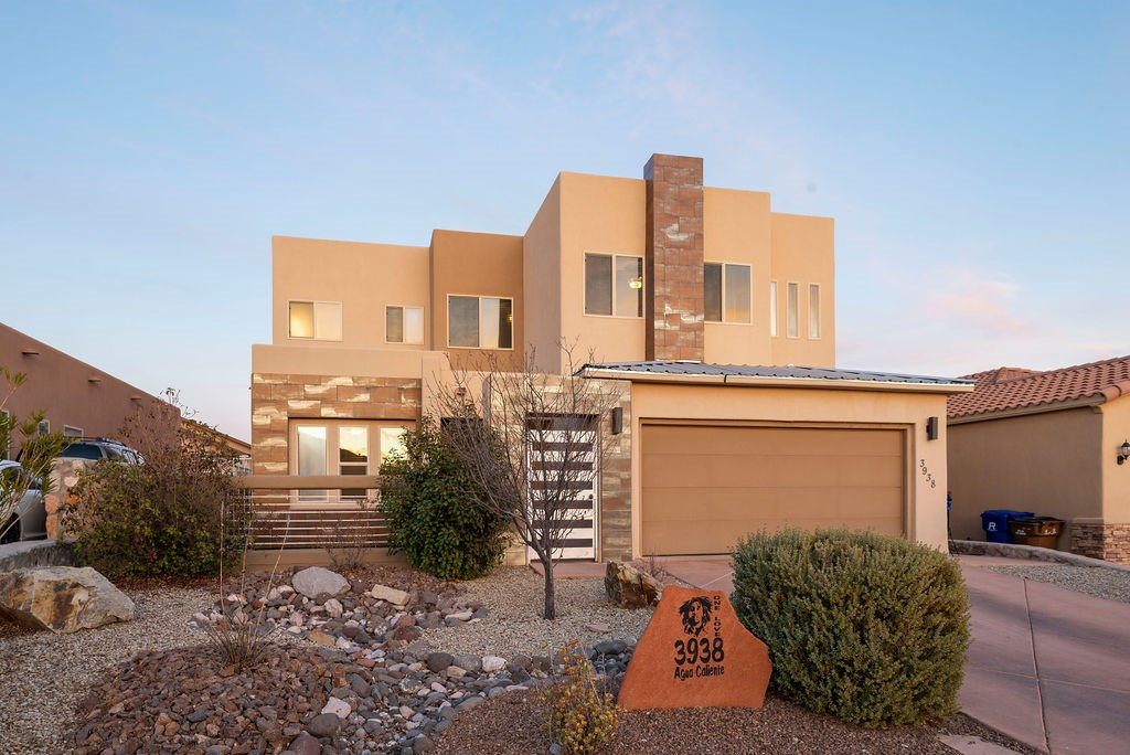 Contemporary Southwestern 2 Story Home