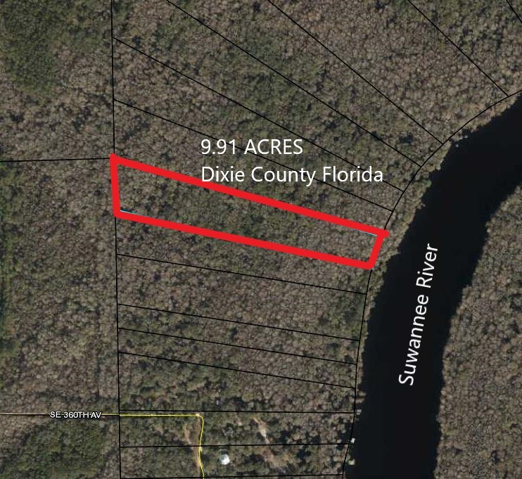 SUWANNEE RIVER WATERFRONT ACREAGE - OLD TOWN, FLORIDA