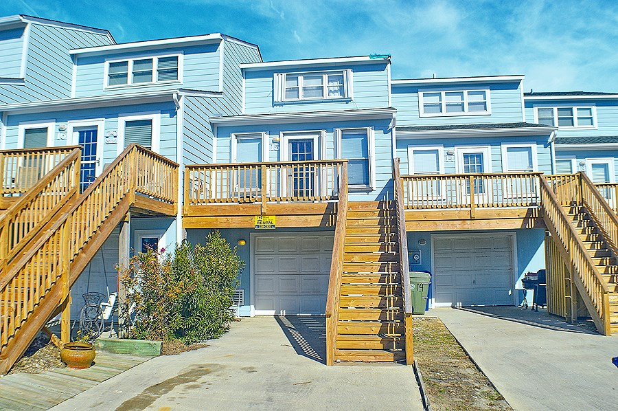 Soundfront 3BR Townhome for Sale on North Topsail Beach