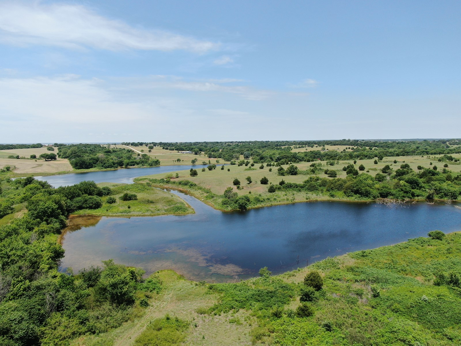 SOUTHERN OKLAHOMA DUCK HUNTING PROPERTY FOR SALE-LINDSAY, OK