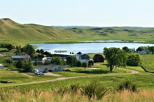 Nebraska Sandhills Spring Lake Ranch For Sale