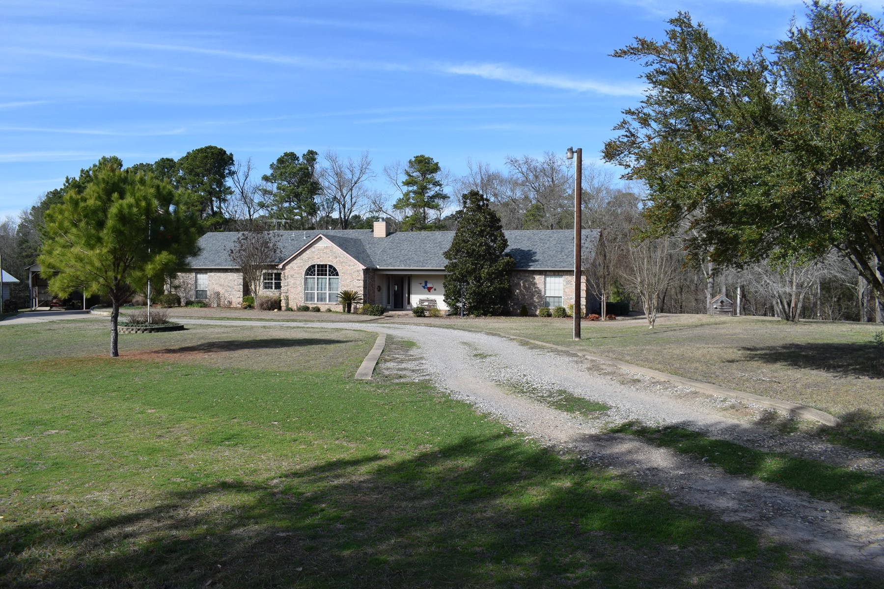 Custom Country Home with Acreage For Sale in Cass Co East TX