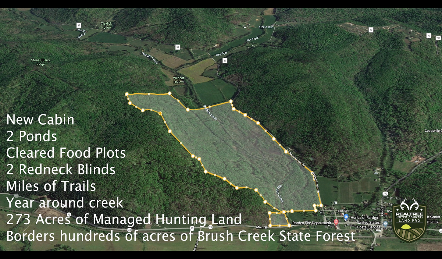 Hunting & Recreational Land For Sale in Scioto County, OH