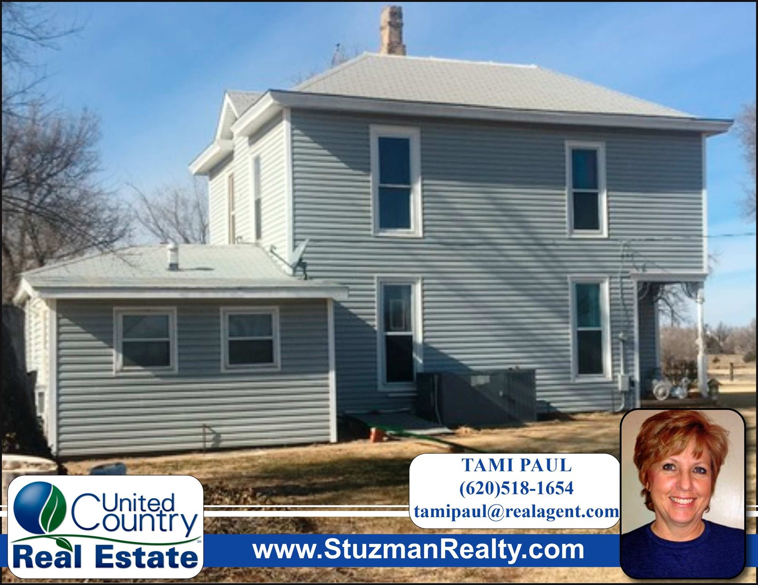CHARMING TWO STORY HOME FOR SALE IN COLDWATER, KANSAS