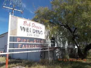 WELDING SHOP - CENTER OF FORT STOCKTON, TX FOR SALE