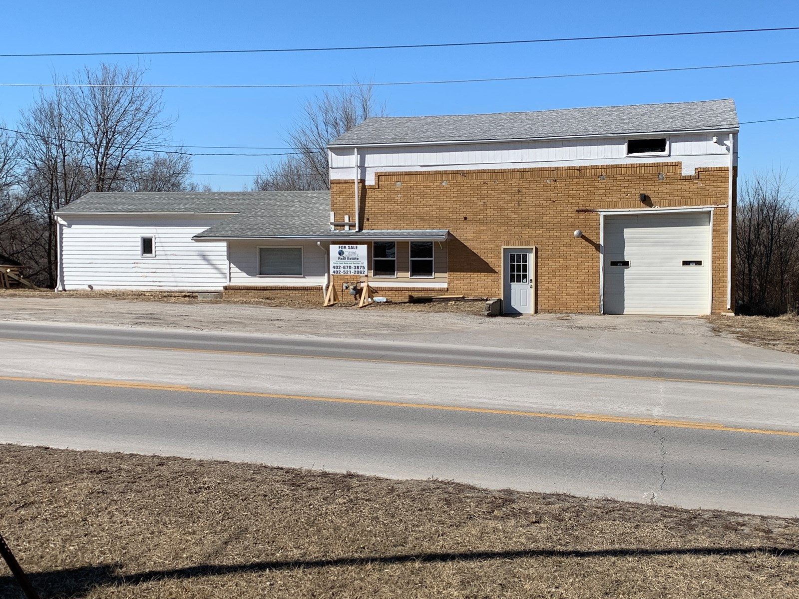Commercial Building For Sale On Busy Highway 6, Ashland NE