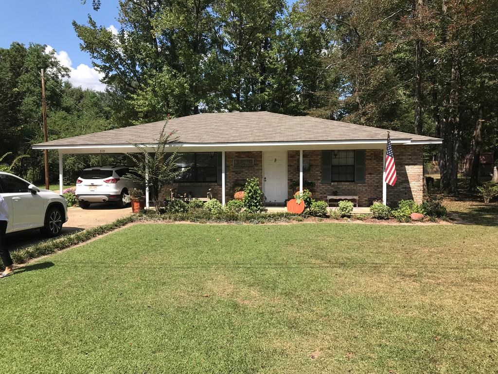 Home in Town For Sale Lincoln County Brookhaven Mississippi