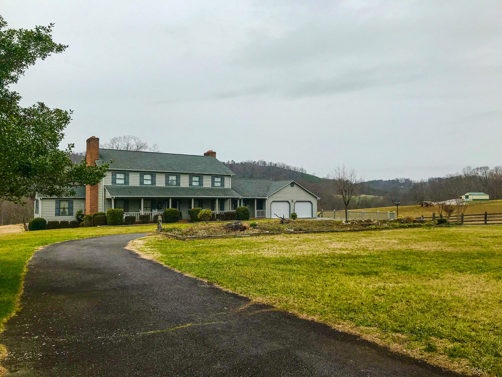 Large Country Home for Sale in Bassett VA!