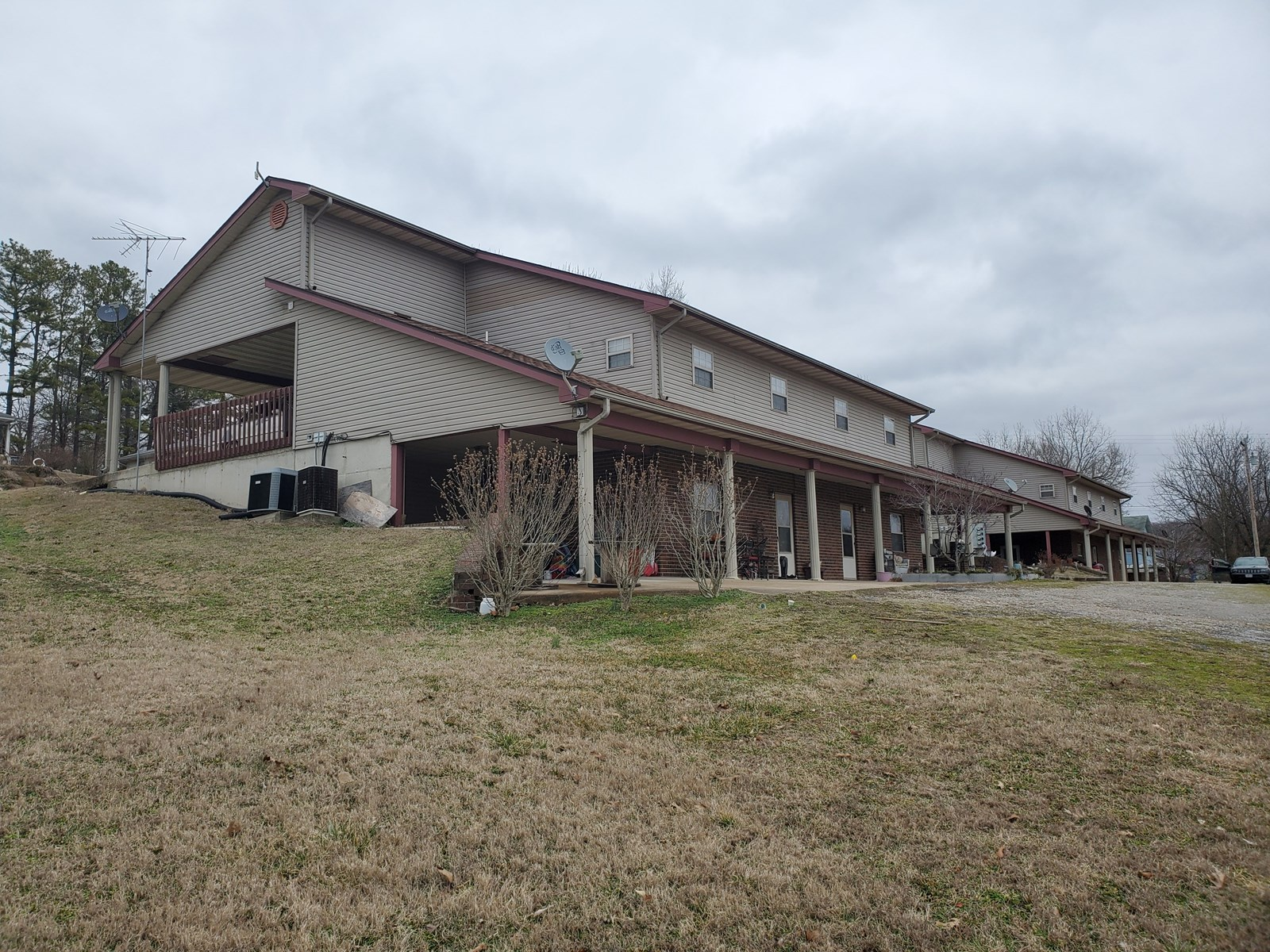Two Fourplexes for Sale in Southern Missouri Ozarks Town