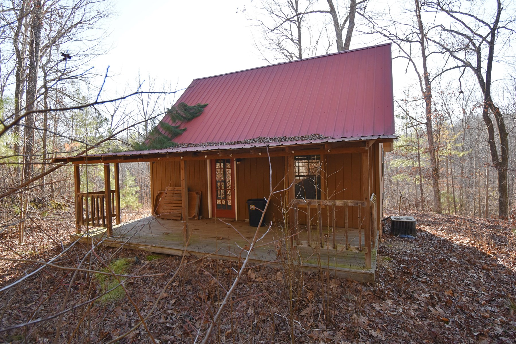 19.41 Wooded Acres-Cabin-2 bedroom 1 Bath