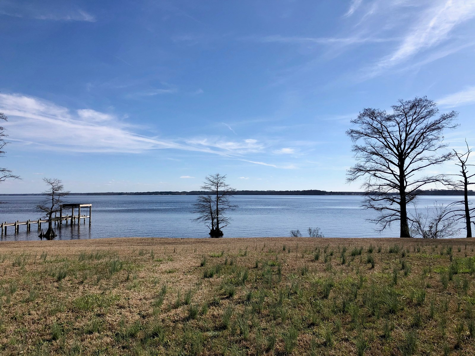 Bulkeaded Riverfront Lot ready to build in Perquimans NC