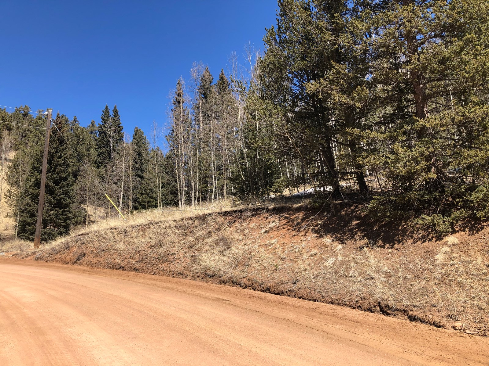 Land For Sale 4.87 acres in Cripple Creek Mountain Estates