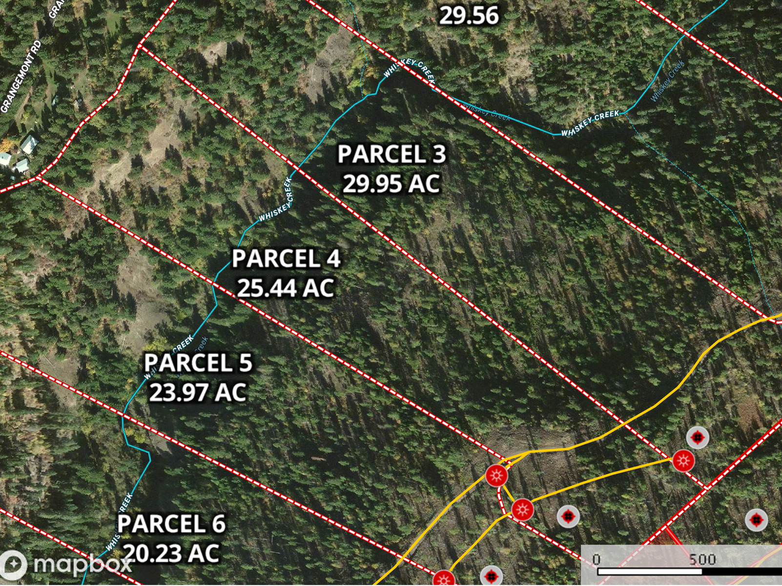 Building Site, Hunting timberland Property near Orofino, ID