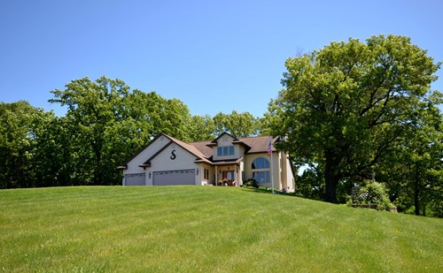 Country Home 1 Mile From Viroqua  Approximately 15.46 Acres