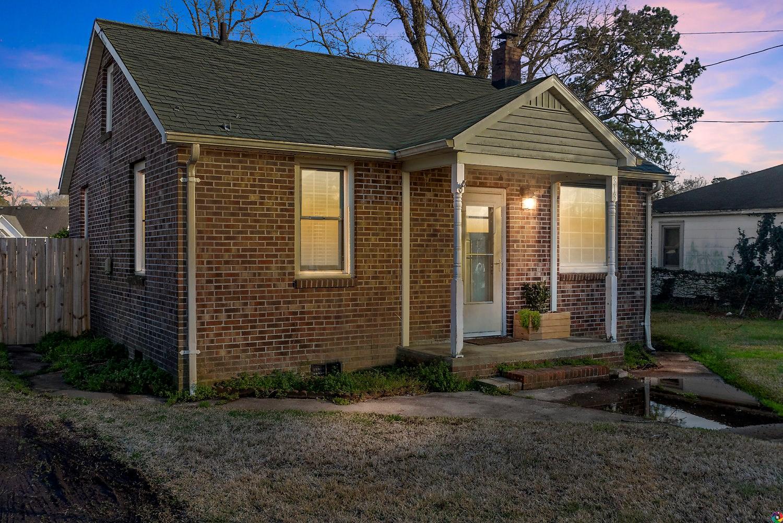 Adorable brick cottage home