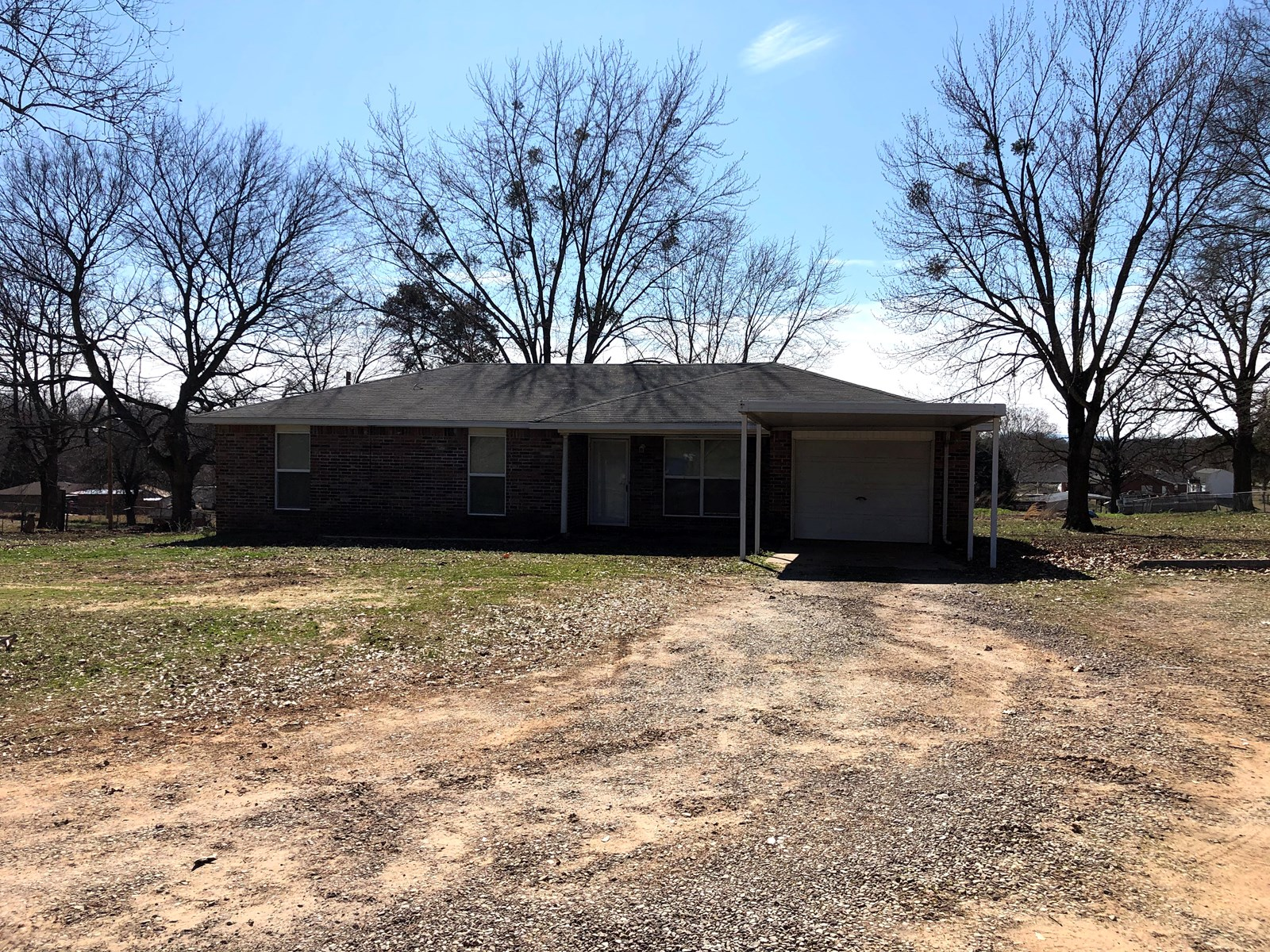 HOME AND .91 ACRE FOR SALE IN MULDROW OK