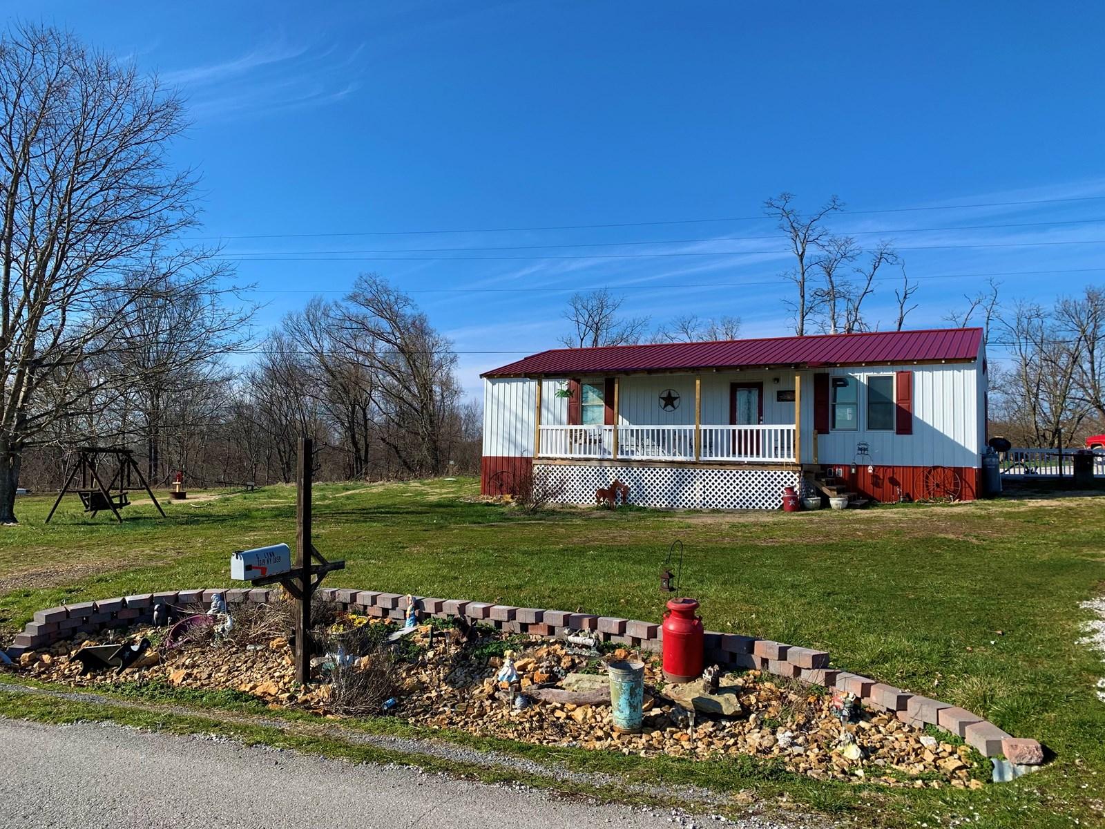 COUNTRY HOME-CARPORT-STORAGE BUILDING/LIBERTY KENTUCKY