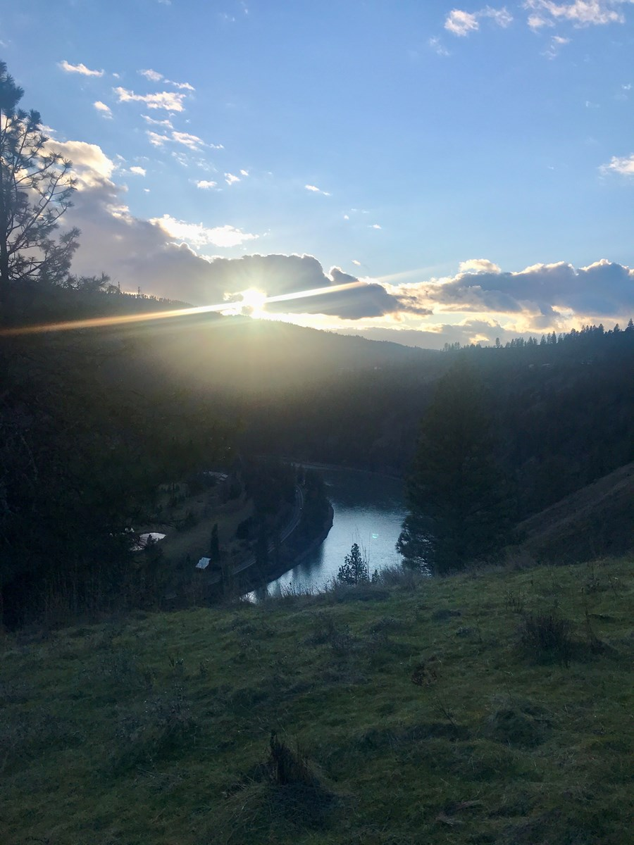 Wonderful 20 acre lot along the Clearwater River
