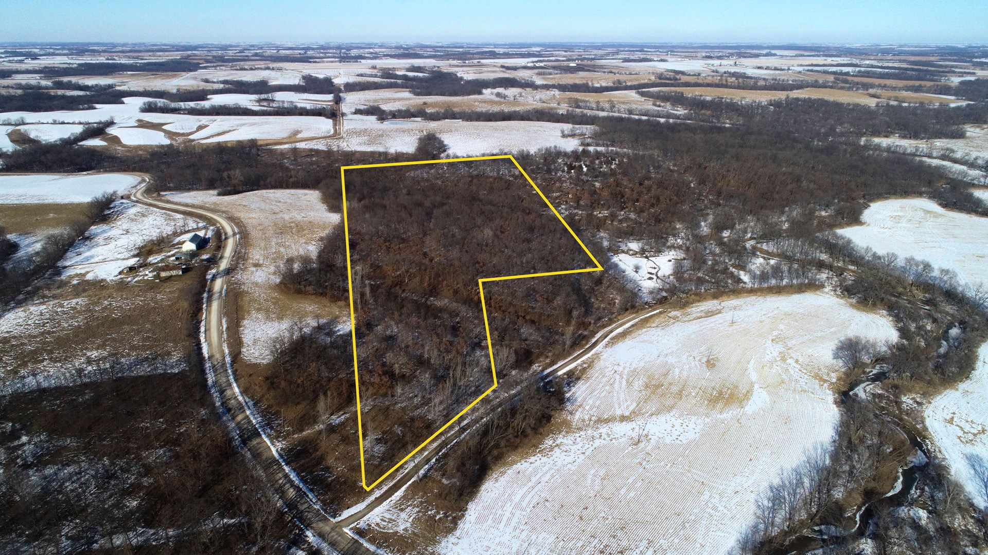 Monroe County Iowa Timbered Hunting Tract