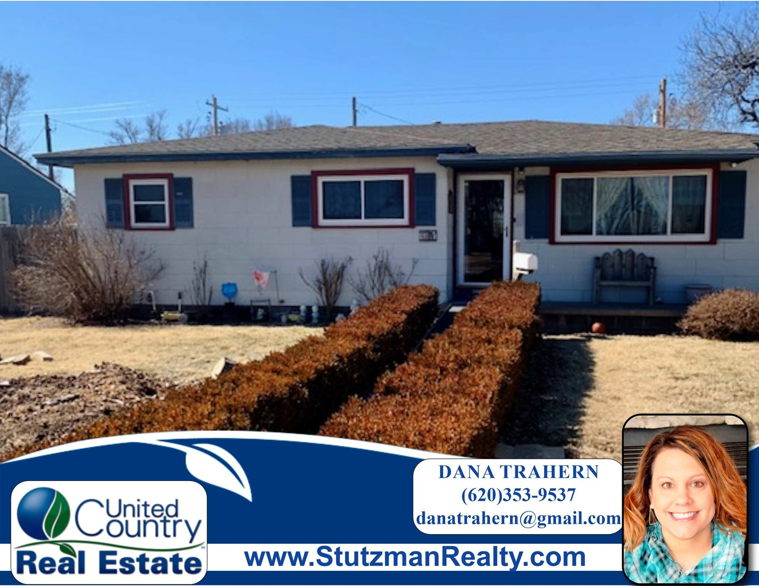 CHARMING THREE BEDROOM HOME FOR SALE IN ULYSSES, KS