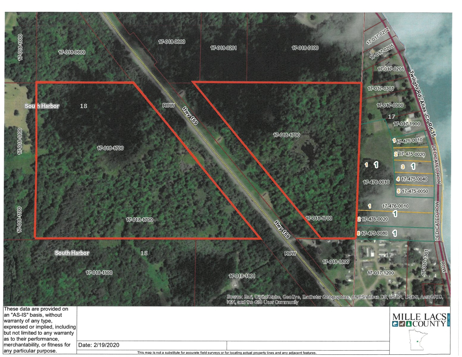 Mille Lacs County Land For Sale