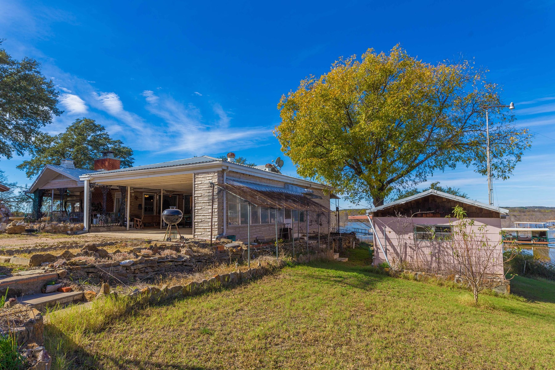 Brownwood TX Lakefront Property Lake House for sale TX
