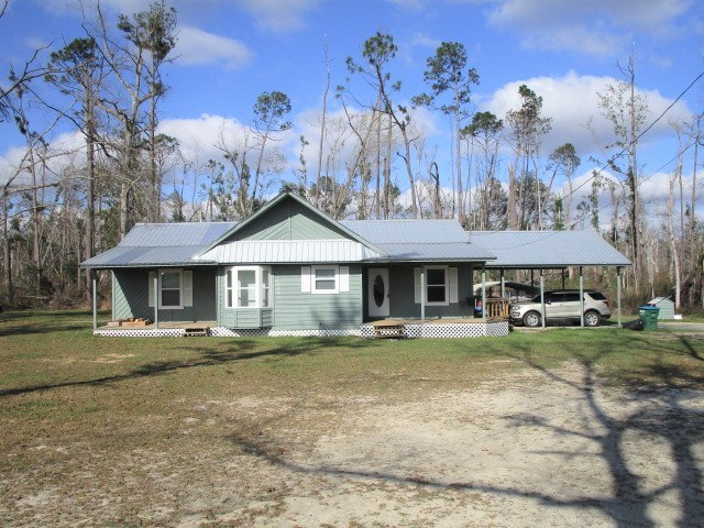Blountstown Fl home at end of cul-de-sac for sale