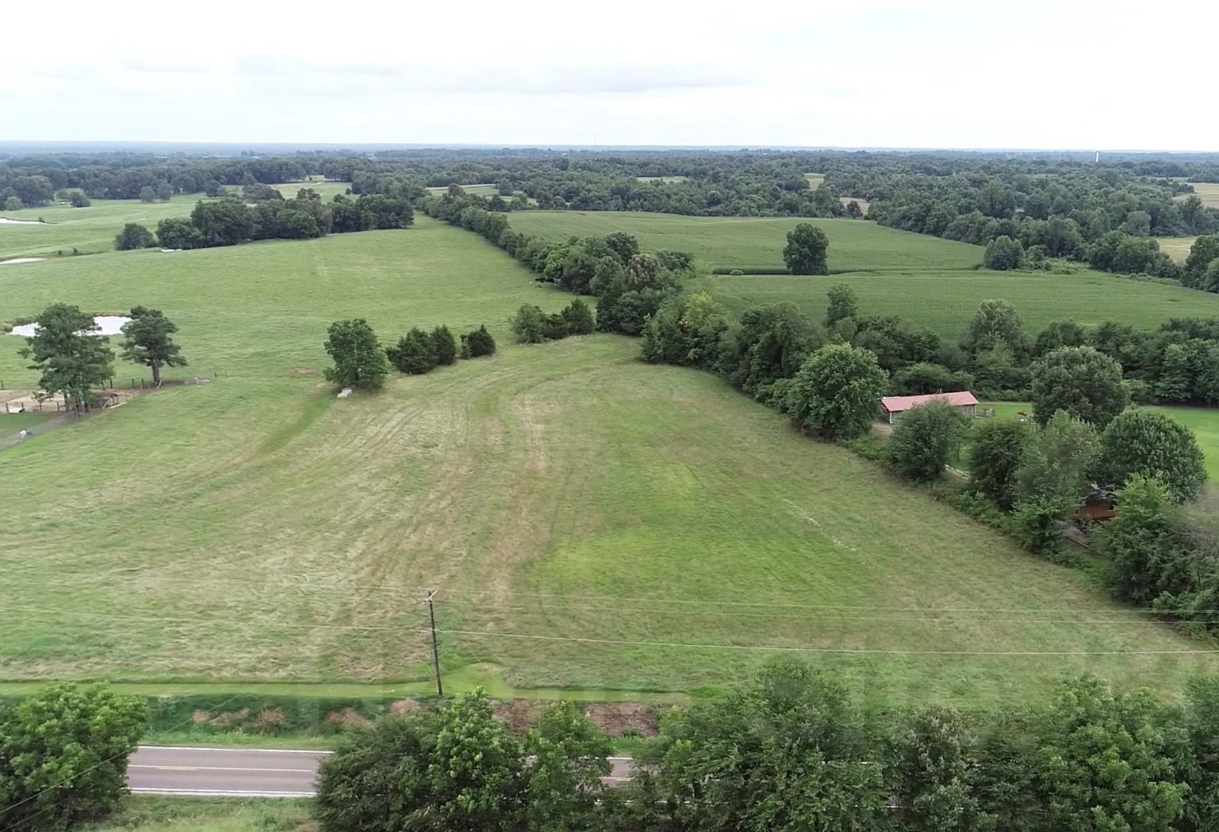 22 Acres +/- In Brownsville, TN, Haywood County, Mini Farm