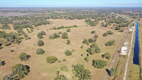 Trophy Hunting Ranch for Sale in Hendry County, FL SW Parcel