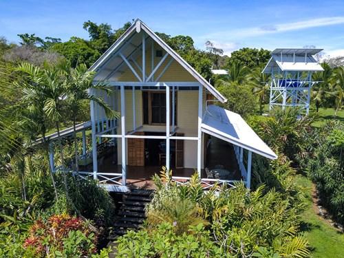 Titled Coastal Oceanview Home on Isla Cristobal Panama