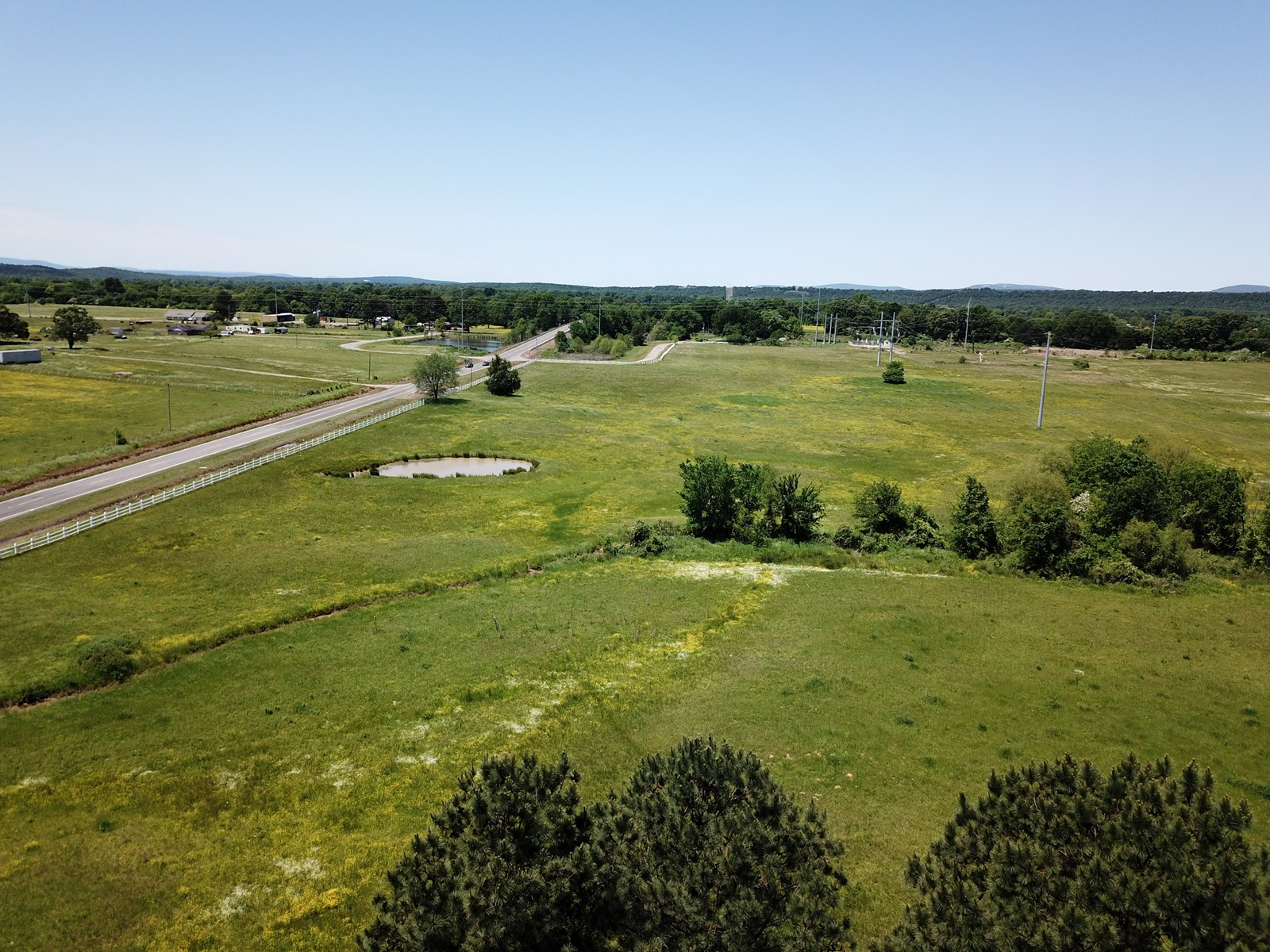 Highway homesite and livestock land for sale